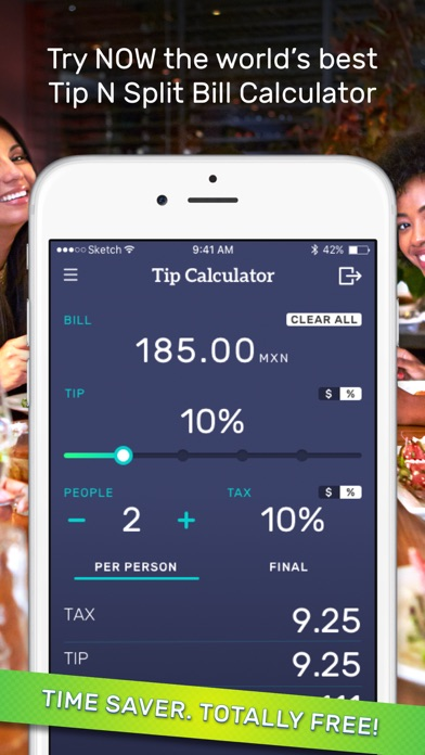 Tip calculator & bill split on the app store.
