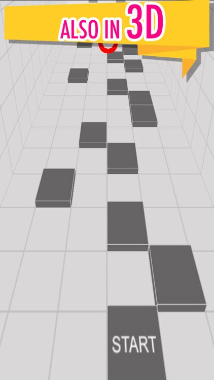 Dont touch the white tile