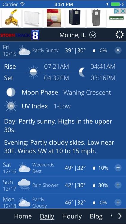 WQAD Storm Track 8 Weather