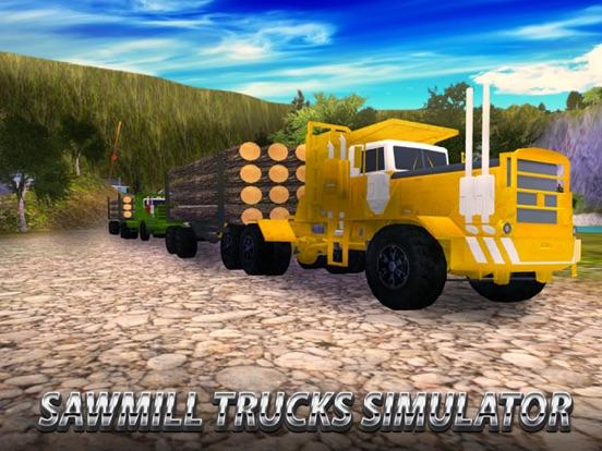 Sawmill Trucks Simulator screenshot 5