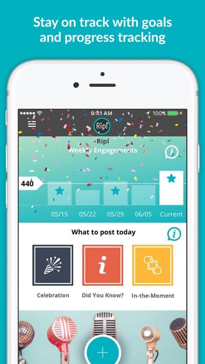Ripl – Social Media Marketing screenshot-4