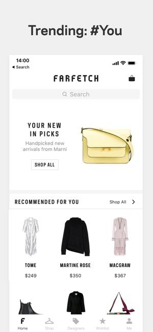 Farfetch - New Season Clothing on the App Store