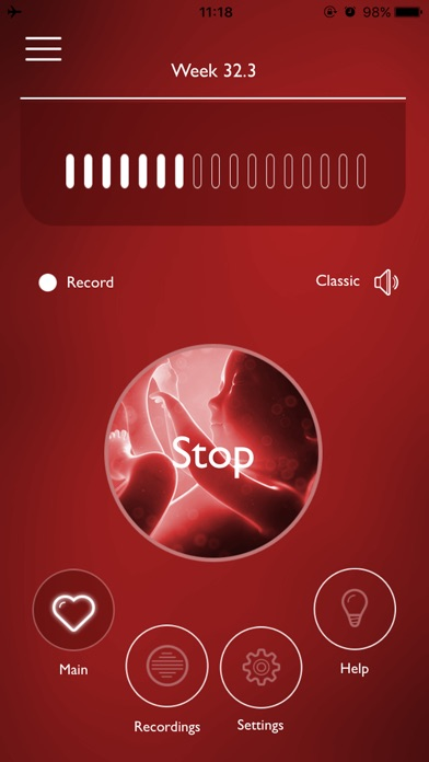 Screenshot for My Baby's Beat in United States App Store