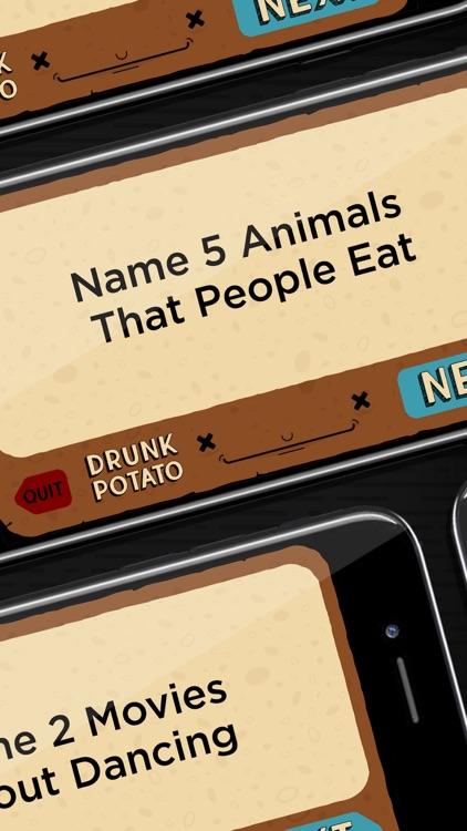 Drunk Potato: A Drinking Game screenshot-4