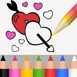 Valentine Coloring Book 2018