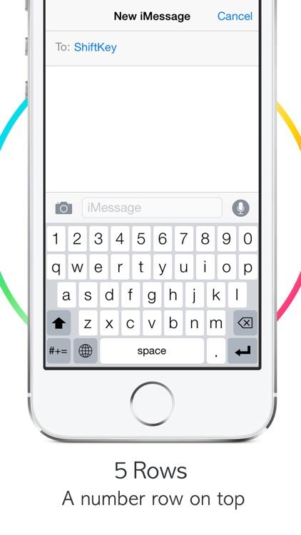 ShiftKey Keyboard Lite screenshot-4