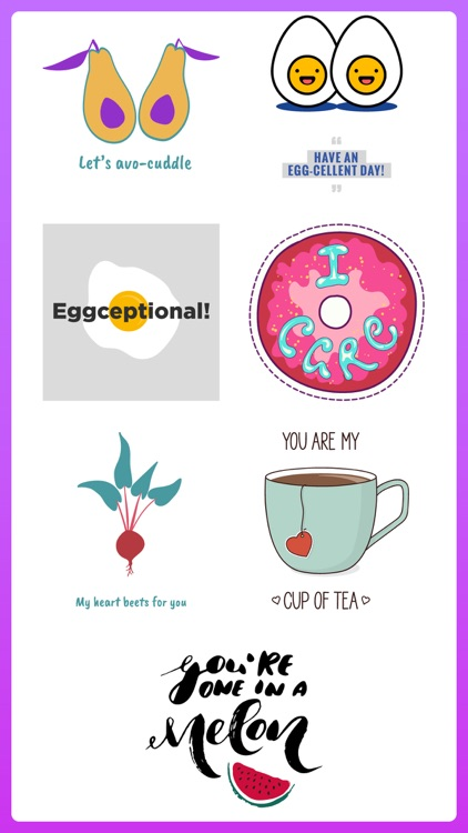 Daily Puns Punny Stickers App