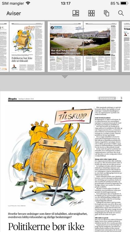 Aftenposten eAvis screenshot-3