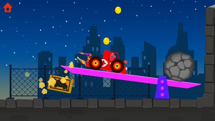Dinosaur Car - Truck Games