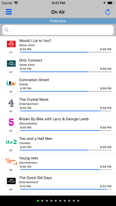 TV Guide Plus Listing Freeview by Ivan Vecchi (iOS, United