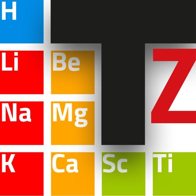 Tavola periodica on the app store - Tavola periodica interattiva zanichelli ...