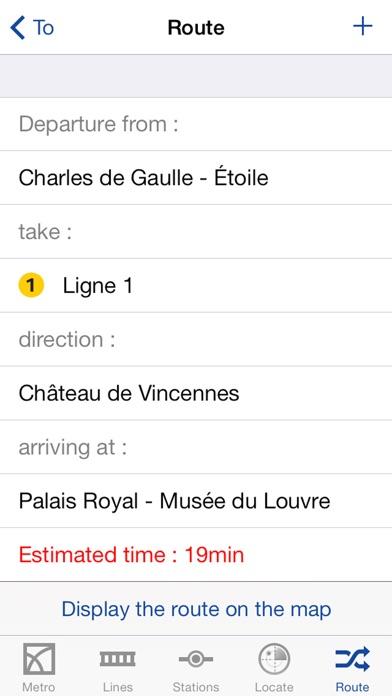Metro Paris Map and Routes screenshot 4