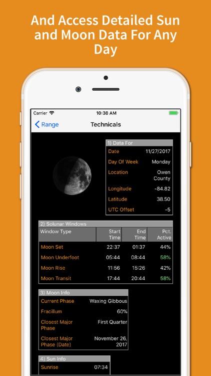 Deer Feeding Times - Solunar+ screenshot-4