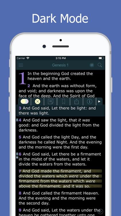 Holy Bible - Daily Reading screenshot-3