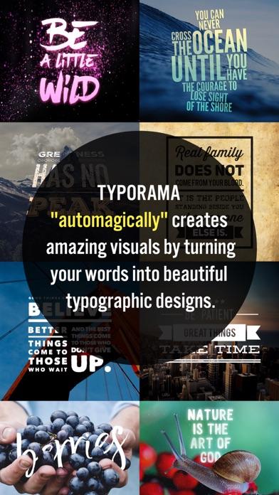 Typorama: Text on Photo Editor app image