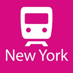 New York Rail Map Lite