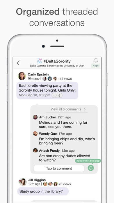 Loop Messenger - by Suggest It Inc  - Social Category - 14