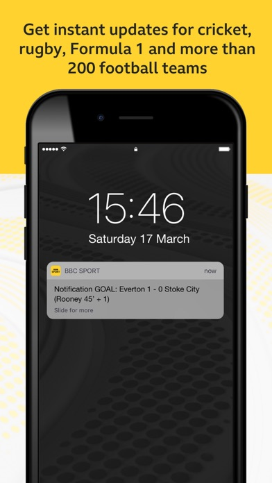 Screenshot for BBC Sport in United States App Store