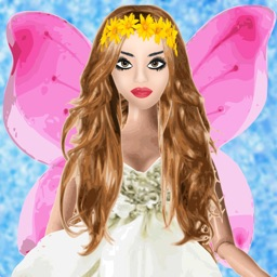 Fairy makeover - Dress up game