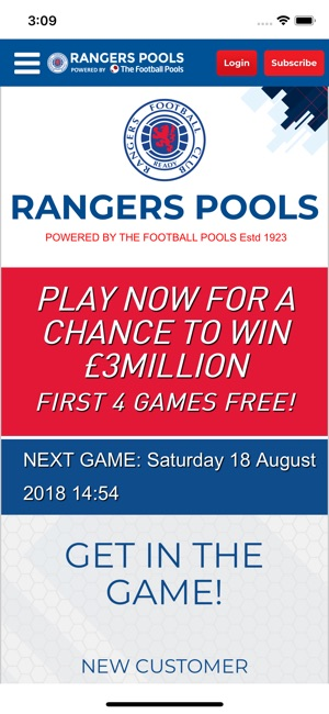 Rangers Pools on the App Store