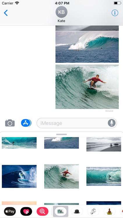 Surfing Sticker Pack screenshot-7