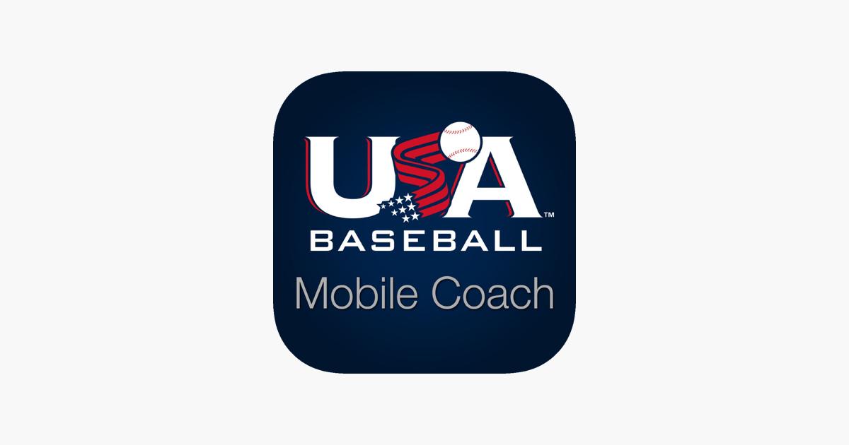 usa baseball mobile coach on the app store. Black Bedroom Furniture Sets. Home Design Ideas