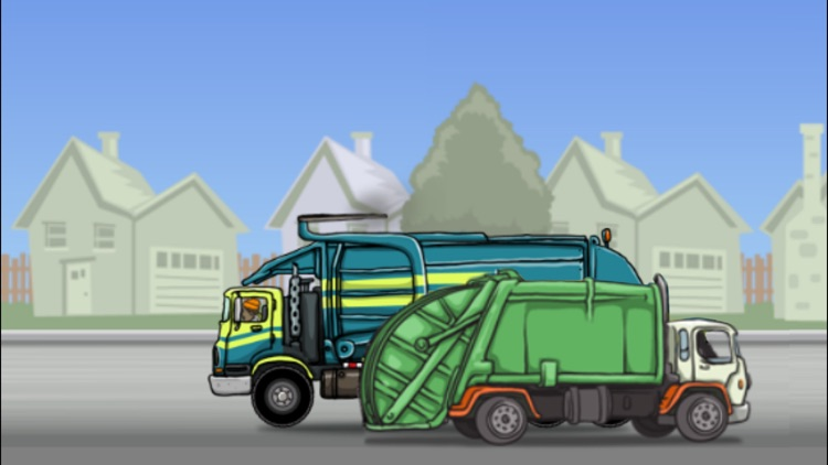 Garbage Truck: Dumpster Pick Up screenshot-3