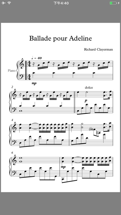 Piano Scores Master's Collection screenshot-4