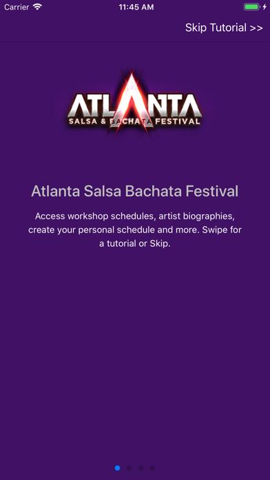 Atlanta Salsa Bachata Festival screenshot one