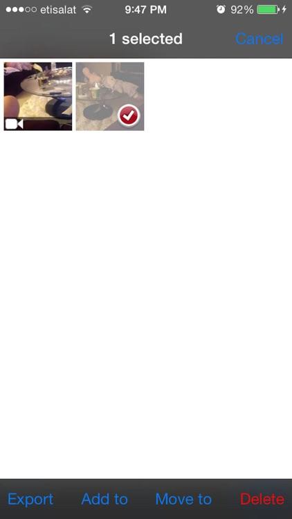 قفل الصور والفيديو screenshot-4