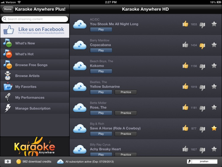 Karaoke Anywhere HD