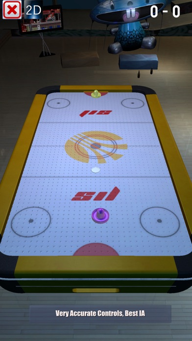 Real 3D Air Hockey Pro screenshot 3