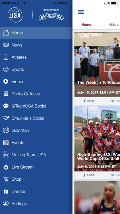 Team USA App screenshot-1