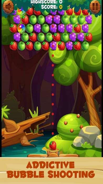 Funny Bubble Garden 2 screenshot 1