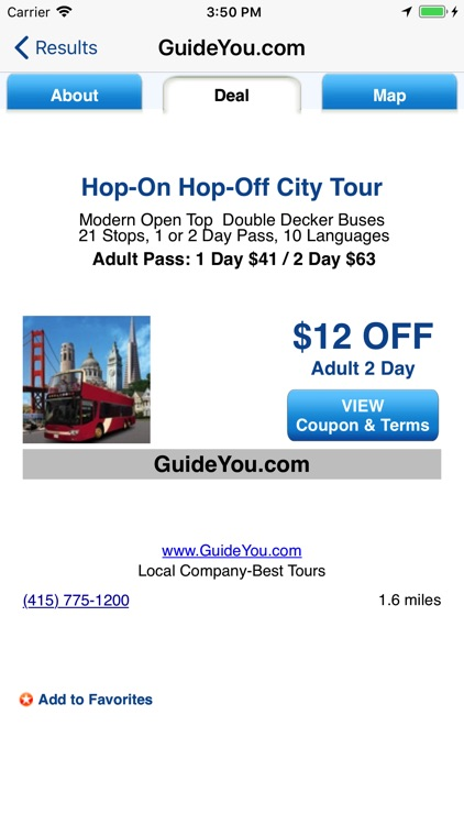 CityGuideDeals San Francisco