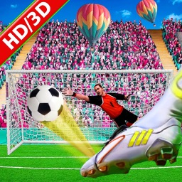 Kick Football Shootout 3D