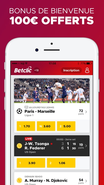 Betclic Paris Sportifs screenshot-0