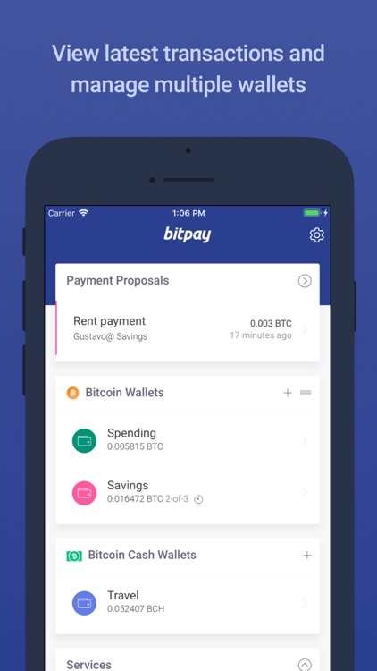BitPay – Secure Bitcoin Wallet