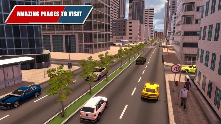 City Car Driving Simulator 3d screenshot-4