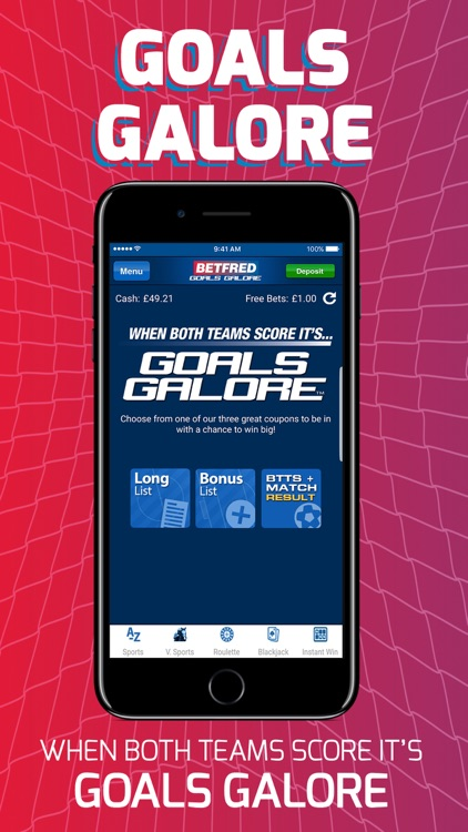 Betfred - Goals Galore