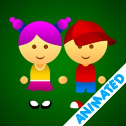 Cute Girl & Boy (animated)