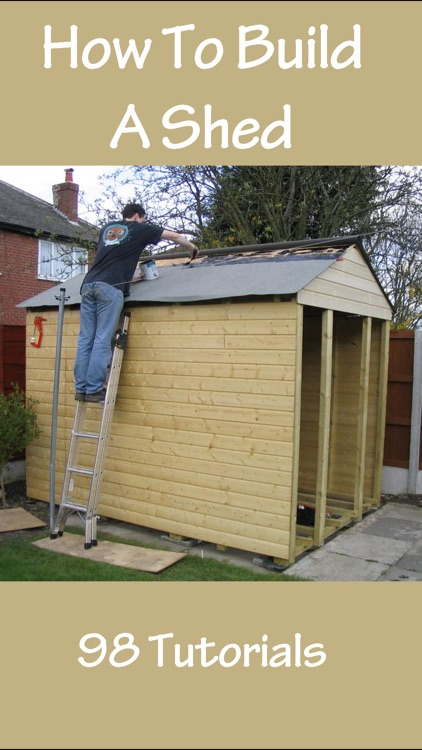 How To Build A Shed screenshot-0