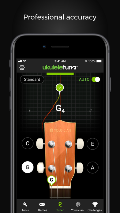UkuleleTuna: Ukulele Tuner screenshot two