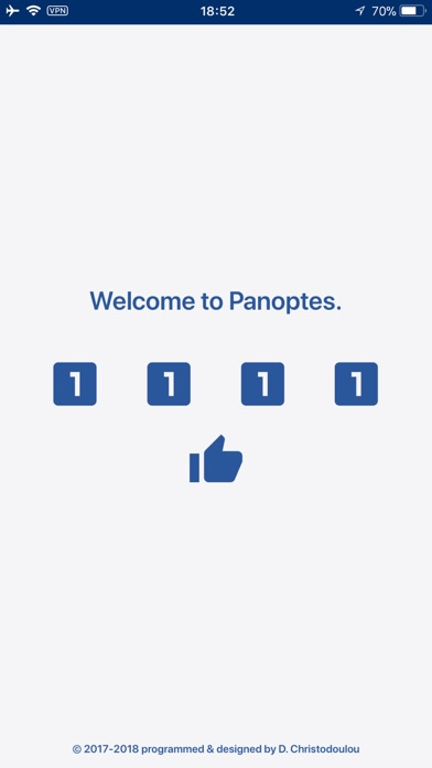 Password Manager - Panoptes Screenshots
