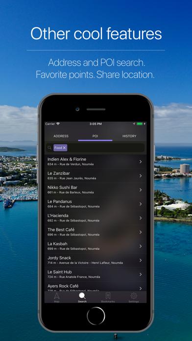 Screenshot for New Caledonia Navigation in Japan App Store