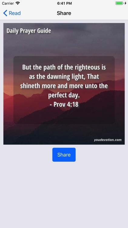 Daily Prayer Guide - Lite