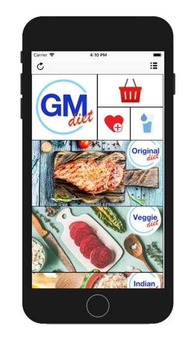 GM Diet - 7 Day Diet Plan screenshot one