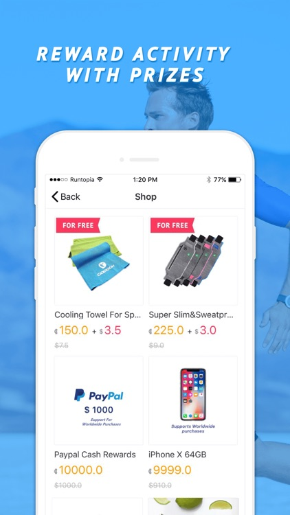 Runtopia Pays You To Get Fit screenshot-3