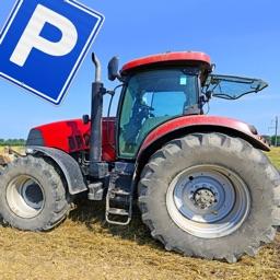 Farming Tractor Parking School