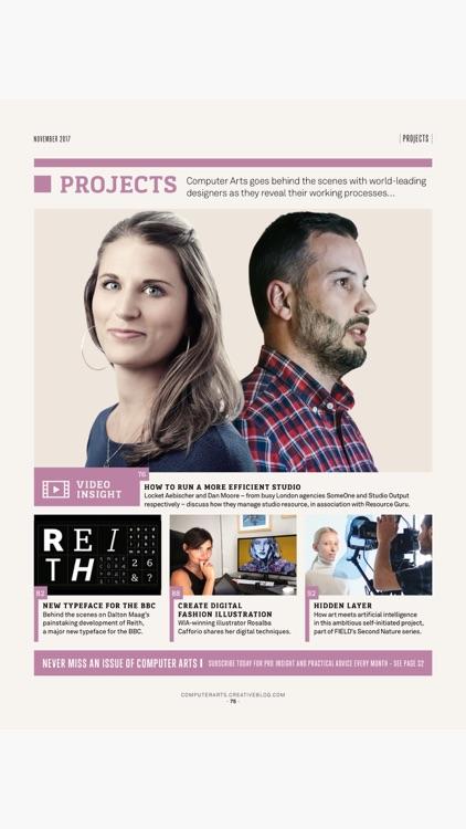 Computer Arts: the graphic design magazine screenshot-4